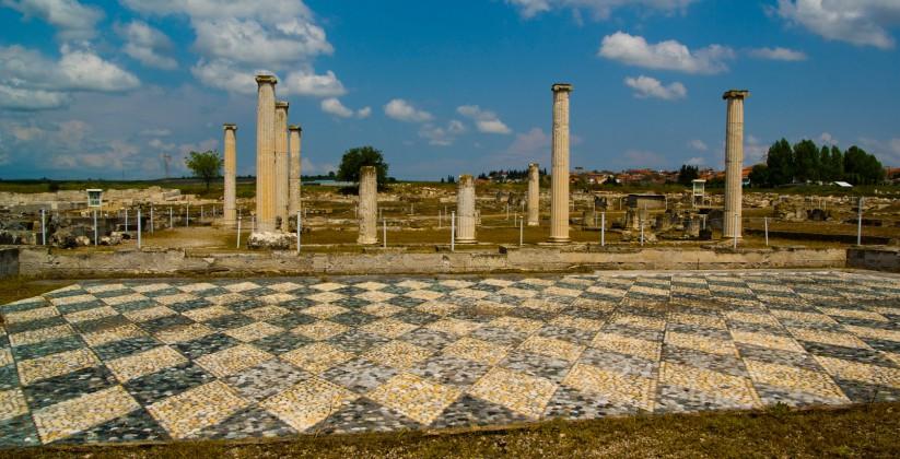 αρχαιολογικός χώρος πέλλας